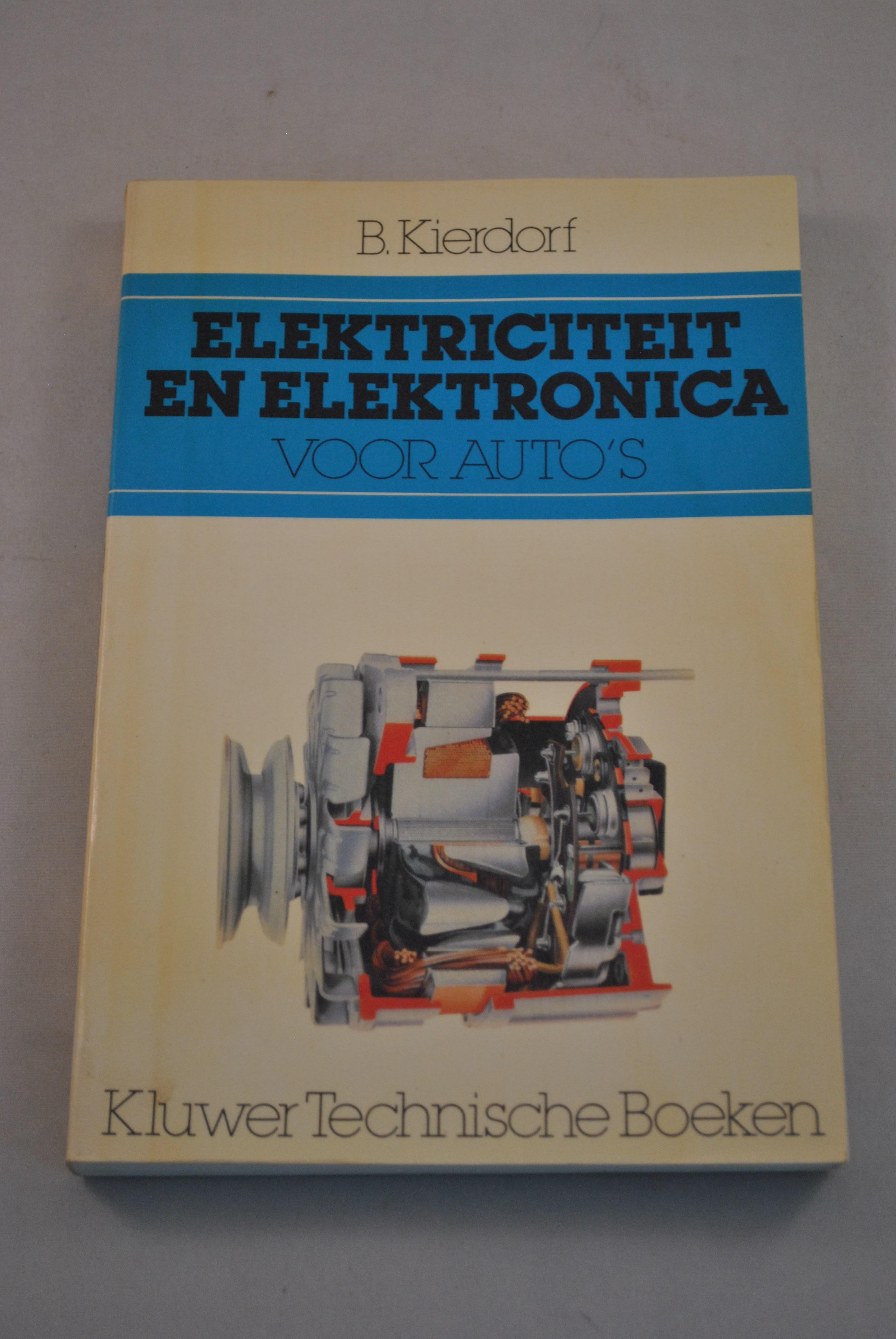 Elektriciteit En Elektronica Voor Auto S B Kierdorf Eersteklas
